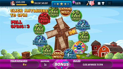 Farm and gold slot machine: Huge jackpot slots game скриншот 2