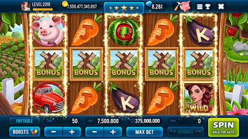 Farm and gold slot machine: Huge jackpot slots game скриншот 5