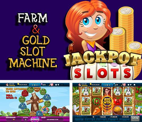 Farm and gold slot machine: Huge jackpot slots game