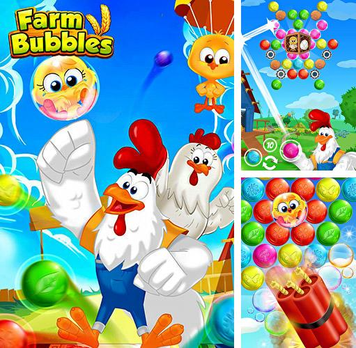Farm bubbles: Bubble shooter puzzle game