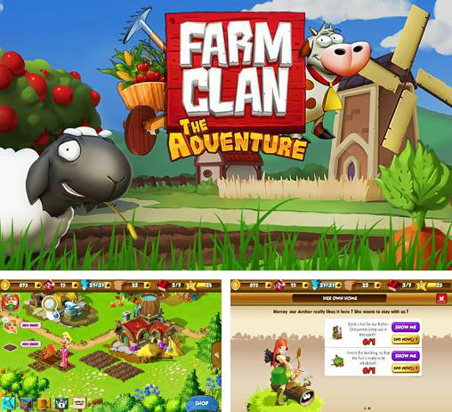 In addition to the game Farm resort for Android phones and tablets, you can also download Farm clan: The adventure for free.