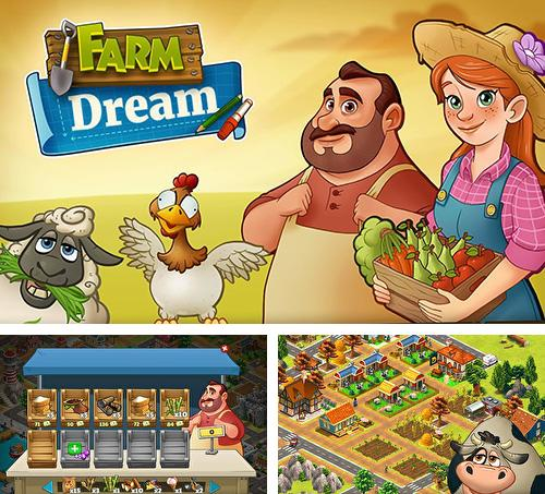 Farm dream: Village harvest paradise. Day of hay