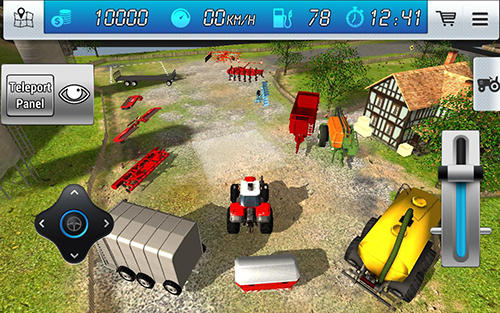 Extreme forklift: City drive. Danger forklift screenshot 2
