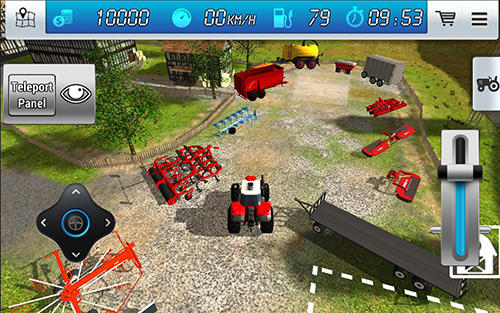 Extreme forklift: City drive. Danger forklift screenshot 5