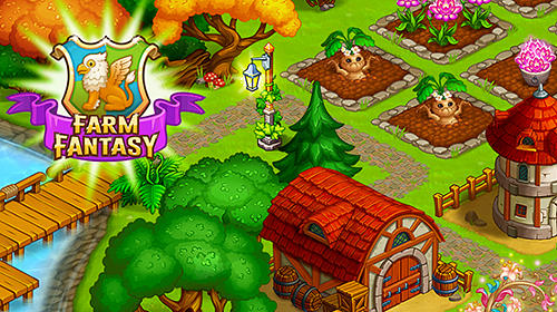 Farm fantasy: Happy magic day in wizard Harry town обложка
