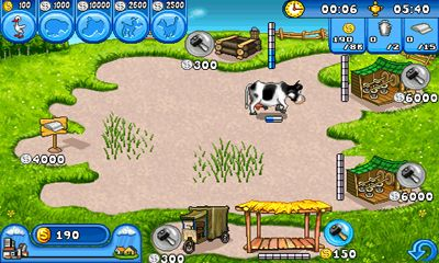 Screenshots do Farm Frenzy - Perigoso para tablet e celular Android.