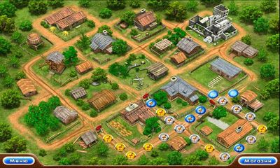 Screenshots do Farm Frenzy 2 - Perigoso para tablet e celular Android.