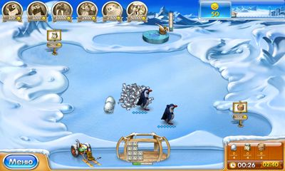 Farm Frenzy 3: Ice Domain für Android spielen. Spiel Farm Frenzy 3: Ice Domain kostenloser Download.