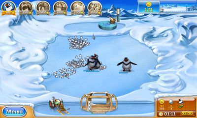 Screenshots von Farm Frenzy 3: Ice Domain für Android-Tablet, Smartphone.