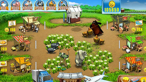 Screenshots von Farm frenzy classic: Animal market story für Android-Tablet, Smartphone.