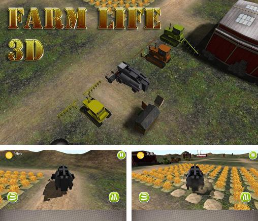 In addition to the game Rampage Punch for Android phones and tablets, you can also download Farm life 3D for free.