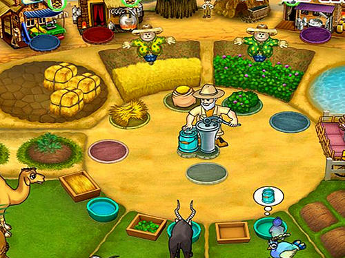 Jogue Farm mania 3: Hot vacation para Android. Jogo Farm mania 3: Hot vacation para download gratuito.