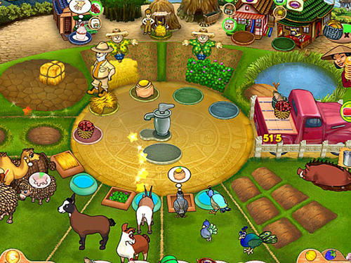 Screenshots do Farm mania 3: Hot vacation - Perigoso para tablet e celular Android.