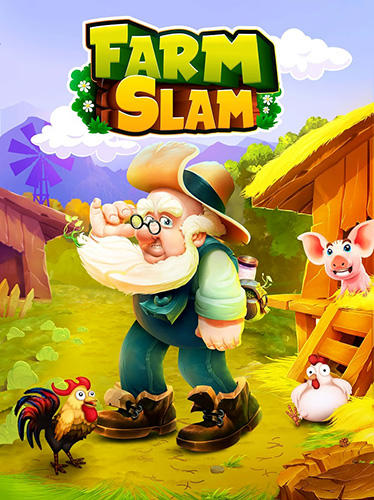 Farm slam: Match and build poster