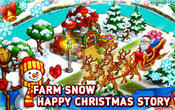 Farm snow: Happy Christmas story with toys and Santa APK