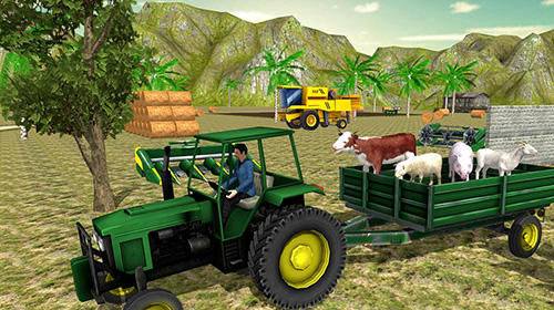 Screenshots do Farm tractor simulator 18 - Perigoso para tablet e celular Android.