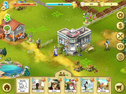 Kostenloses Android-Game Farm Up. Vollversion der Android-apk-App Hirschjäger: Die Farm up für Tablets und Telefone.