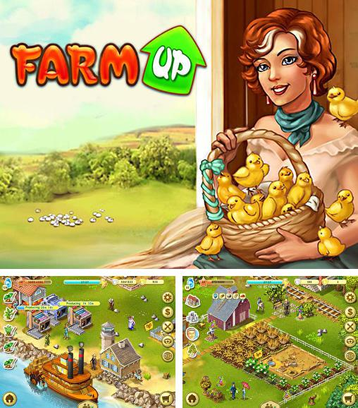 In addition to the game Township for Android phones and tablets, you can also download Farm up for free.