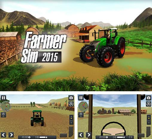 In addition to the game Tractor farming simulator 2017 for Android phones and tablets, you can also download Farmer sim 2015 for free.