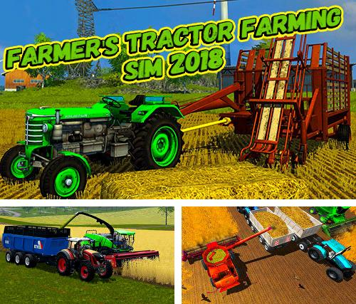 In addition to the game Canada's organic tractor farming simulator 2018 for Android phones and tablets, you can also download Farmer's tractor farming simulator 2018 for free.