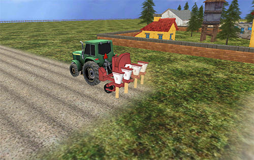 安卓平板、手机Farming simulator 2017截图。