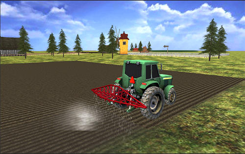 Screenshots of the Farming simulator 2017 for Android tablet, phone.