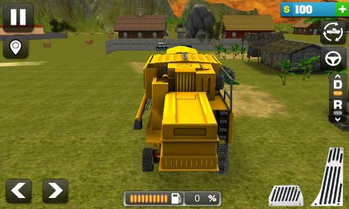 Jogue Farming simulator 3D para Android. Jogo Farming simulator 3D para download gratuito.