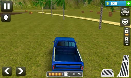 Screenshots do Farming simulator 3D - Perigoso para tablet e celular Android.