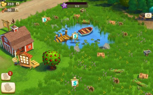 Screenshots do FarmVille 2: Country escape - Perigoso para tablet e celular Android.