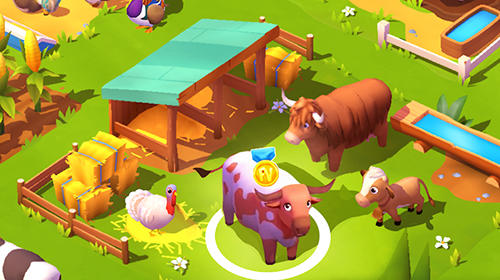 Screenshots von Farmville 3: Animals für Android-Tablet, Smartphone.