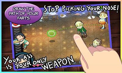 Screenshots of the Farts vs Zombies for Android tablet, phone.