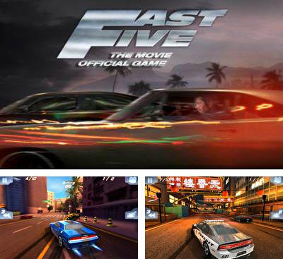 En plus du jeu Rapides et Dangereux 6. Le Jeu pour téléphones et tablettes Android, vous pouvez aussi télécharger gratuitement Rapides et Dangereux 5. Le Jeux Officiel du Film, Fast Five the Movie Official Game HD.