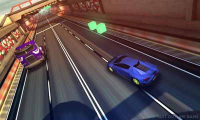 Screenshots do Fast Outlaw. Asphalt Surfers - Perigoso para tablet e celular Android.