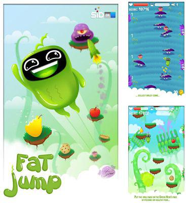 In addition to the game Penguin Palooza for Android phones and tablets, you can also download FatJump for free.