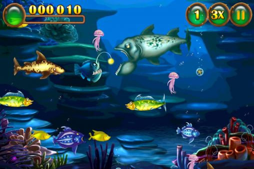 Screenshots von Feeding frenzy special für Android-Tablet, Smartphone.