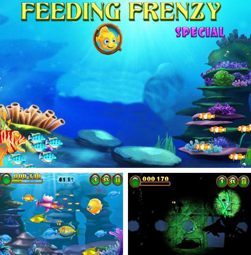 In addition to the game Peggle for Android phones and tablets, you can also download Feeding frenzy special for free.