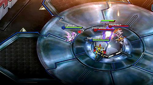 Screenshots von Fhacktions go: GPS team PvP conquest battle für Android-Tablet, Smartphone.