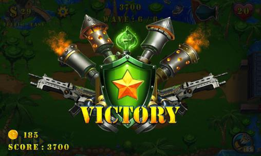 Геймплей Field defense: Tower defense evolution для Android телефону.