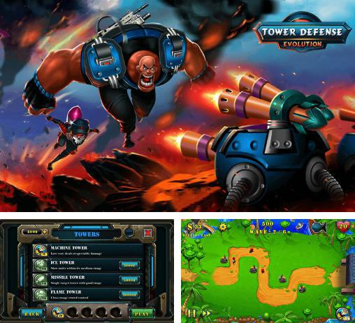 In addition to the game Fieldrunners 2 for Android phones and tablets, you can also download Field defense: Tower defense evolution for free.