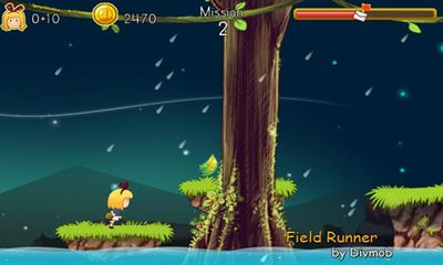 Screenshots of the Field Runner for Android tablet, phone.