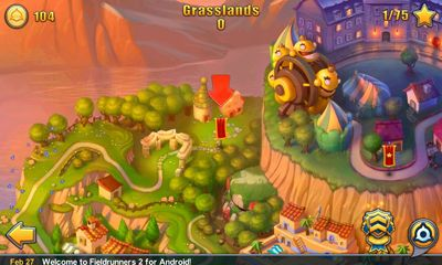 Download Fieldrunners 2 Android free game.