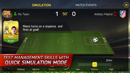 FIFA 15: Ultimate team screenshot 2