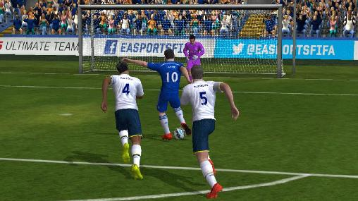 Screenshots do FIFA 15: Ultimate team - Perigoso para tablet e celular Android.