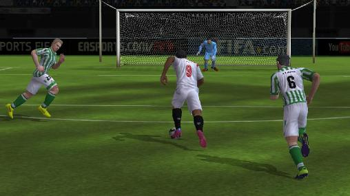Screenshots von FIFA 15: Ultimate team für Android-Tablet, Smartphone.