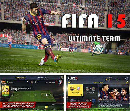 In addition to the game FIFA 15: Ultimate team for Android, you can download other free Android games for LG G Pad 8.3.