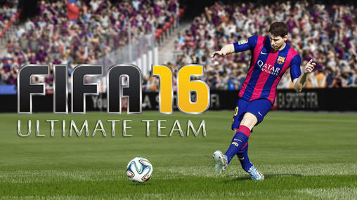 FIFA 16: Ultimate team обложка