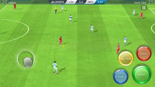 FIFA 16: Ultimate team für Android spielen. Spiel FIFA 16: Ultimatives Team kostenloser Download.