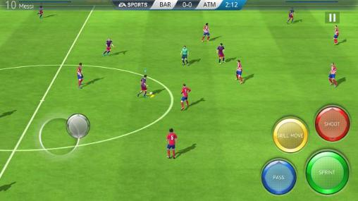 Screenshots do FIFA 16: Ultimate team - Perigoso para tablet e celular Android.