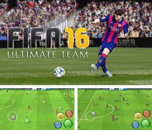 In addition to the game Wall defense: Zombie mutants for Android phones and tablets, you can also download FIFA 16: Ultimate team v3.2.11 for free.