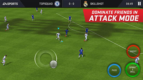 Screenshots von FIFA mobile: Football für Android-Tablet, Smartphone.